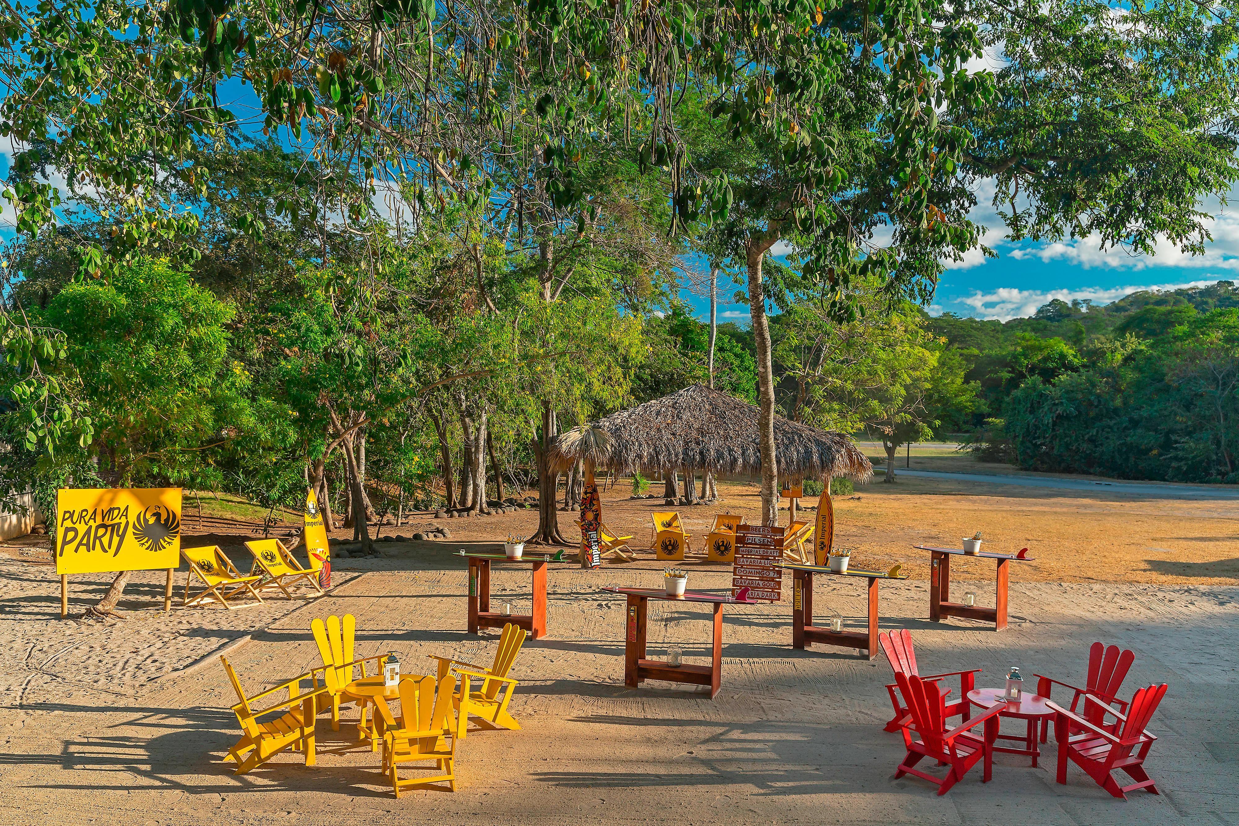 Playa artificial, evento al aire libre