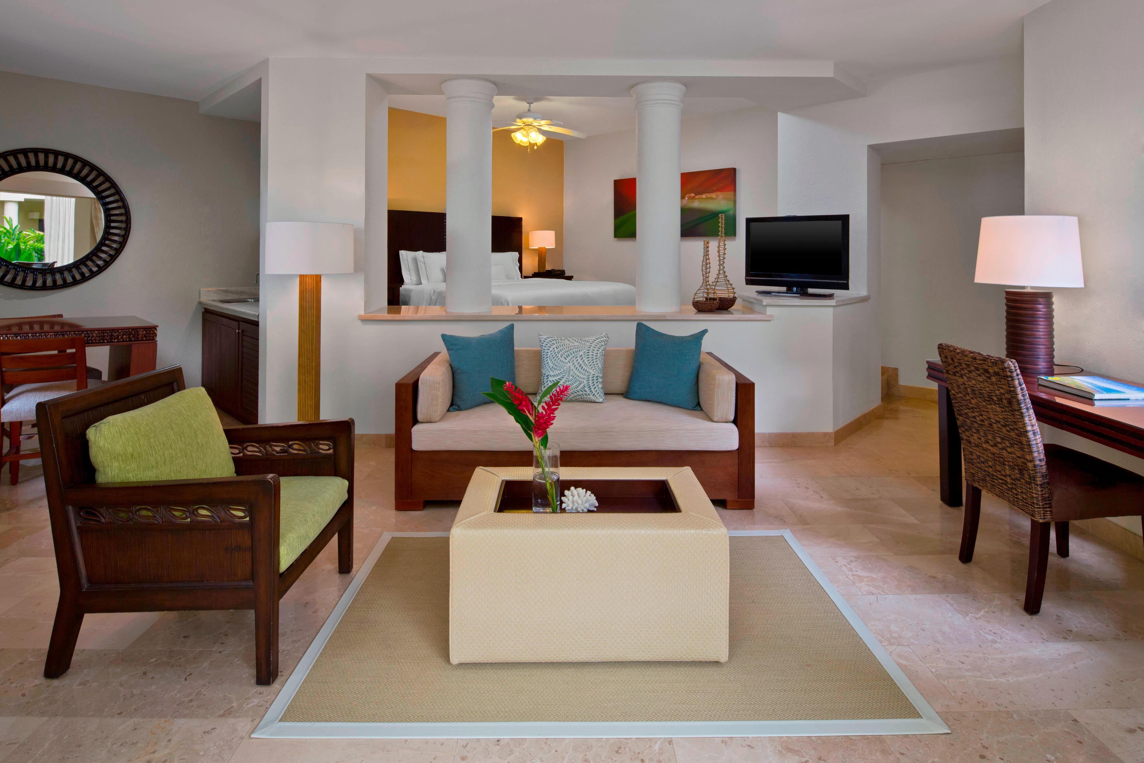 Junior Suite de lujo, habitación con cama tamaño King