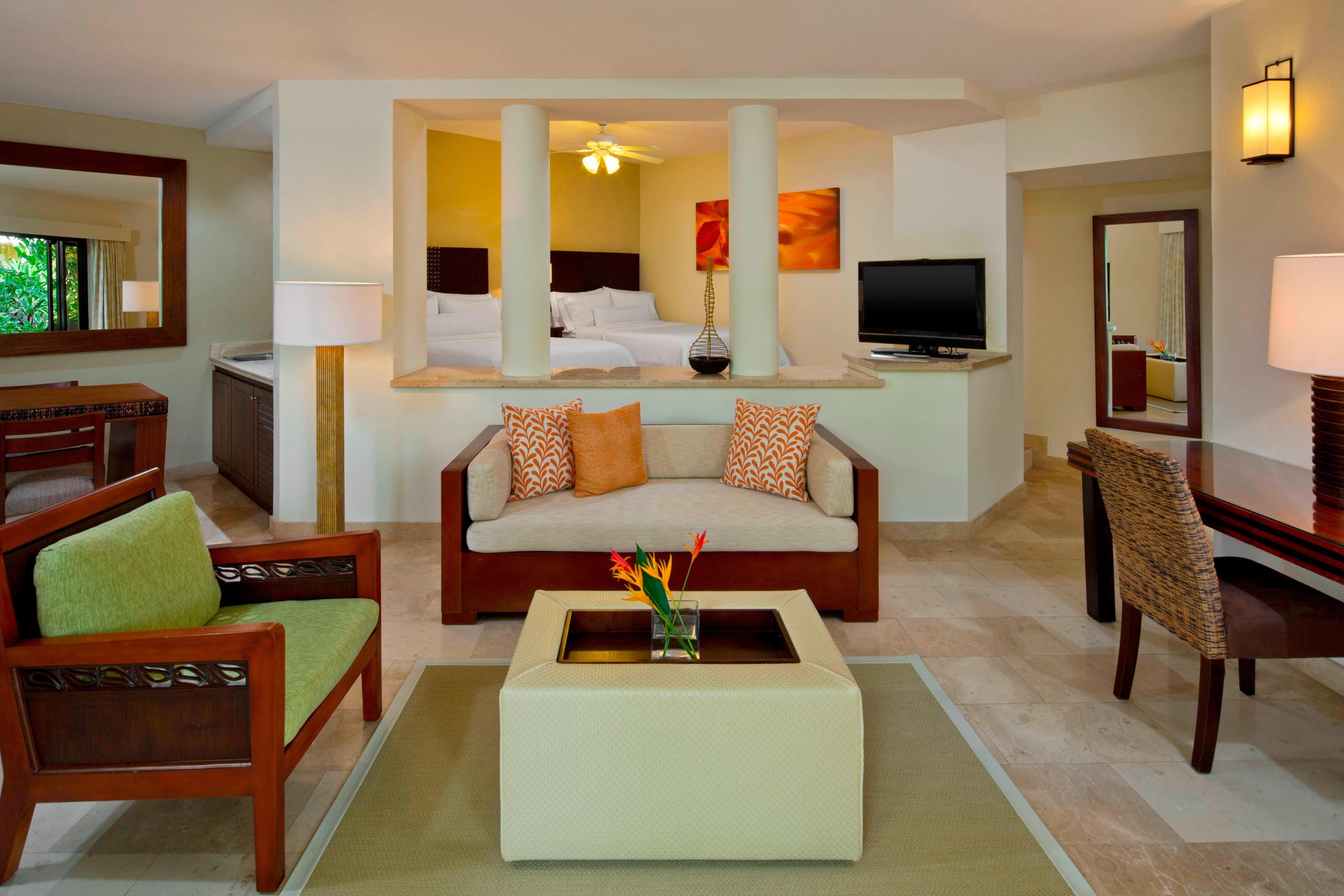 Junior Suite familiar, dos camas dobles