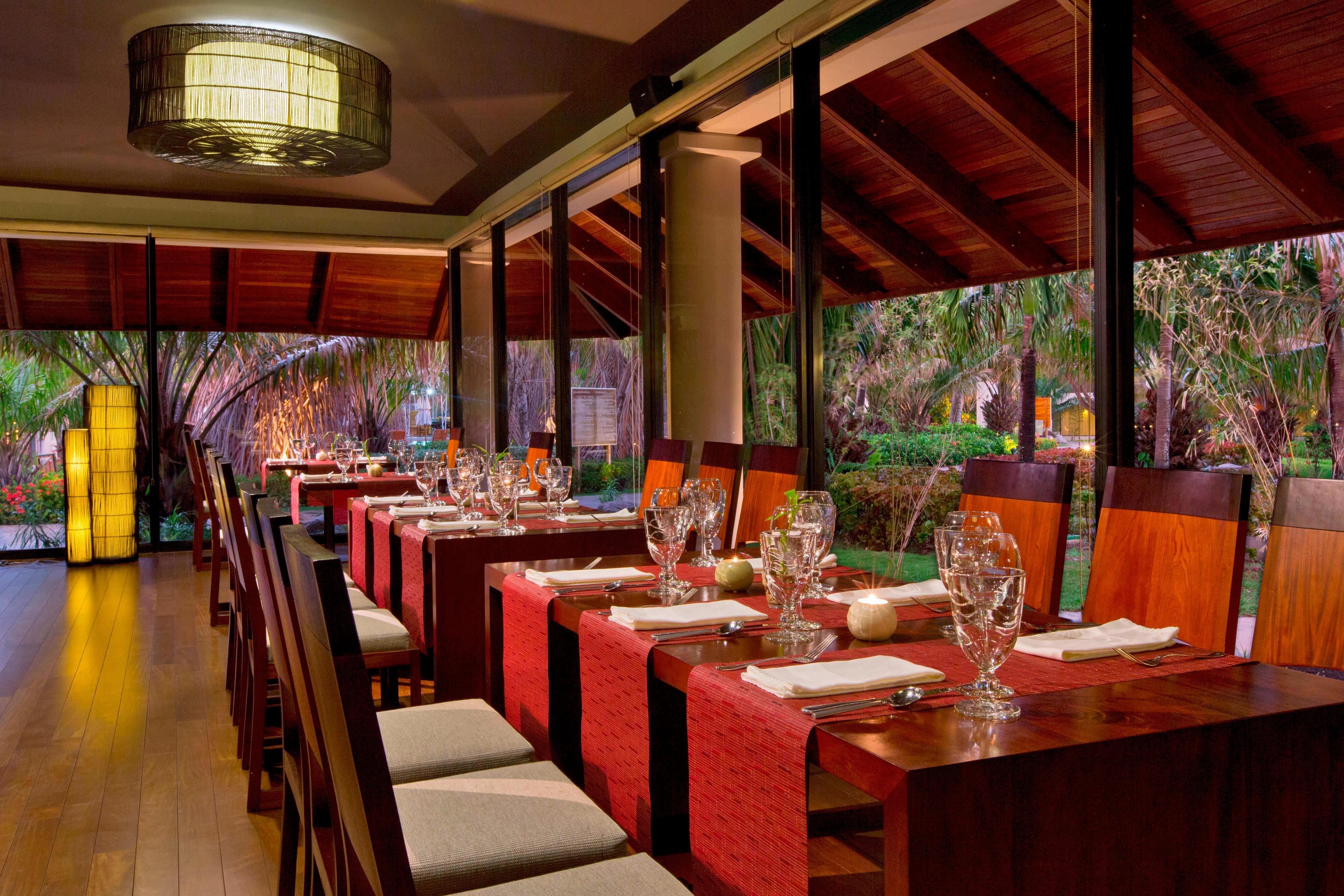 Restaurante asiático Bamboo