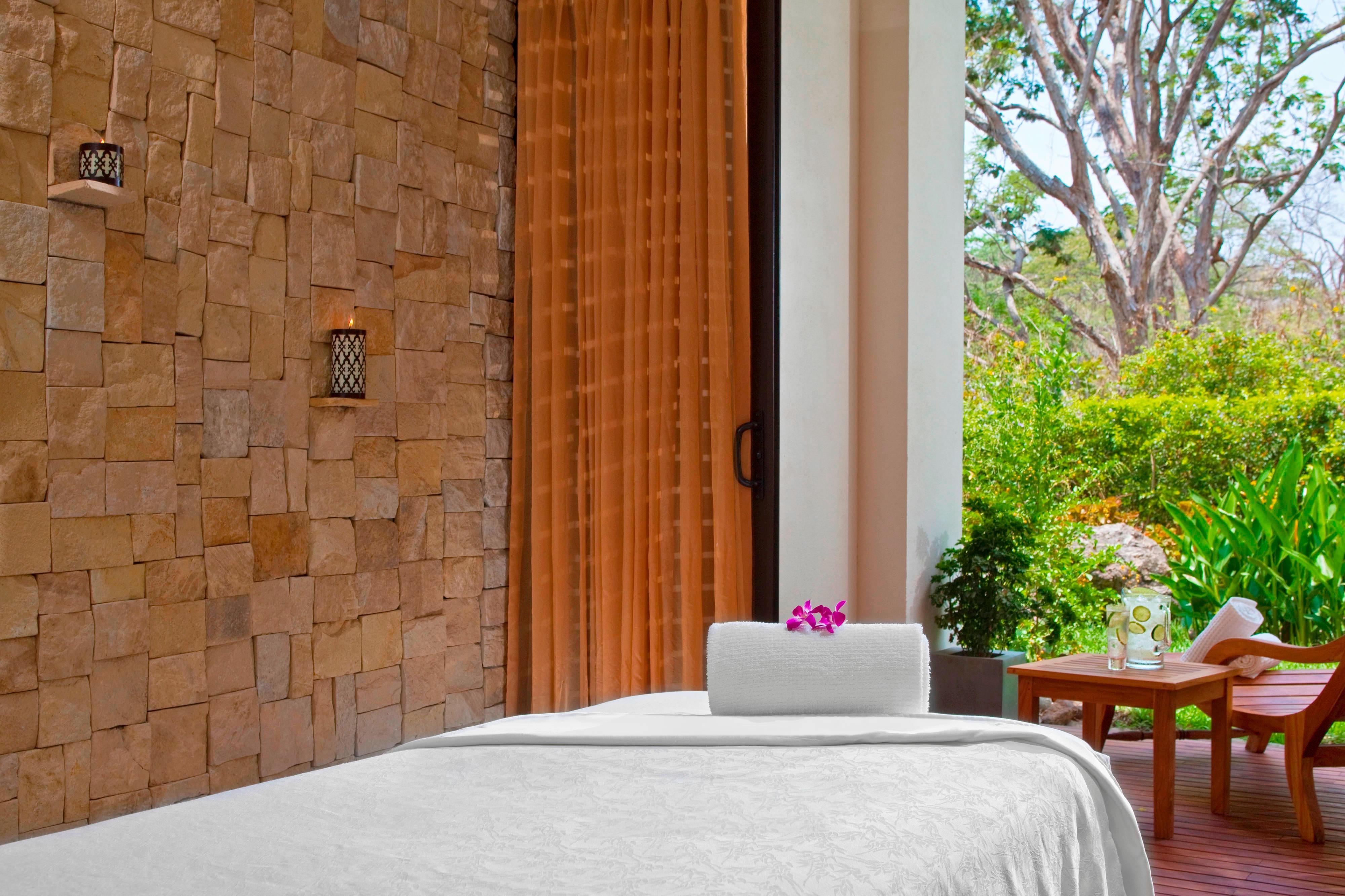 El Spa, sala de masajes y tratamientos