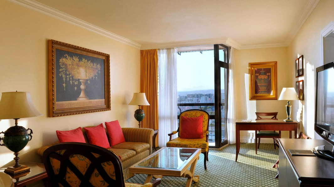 リスボンのホテルのスイート