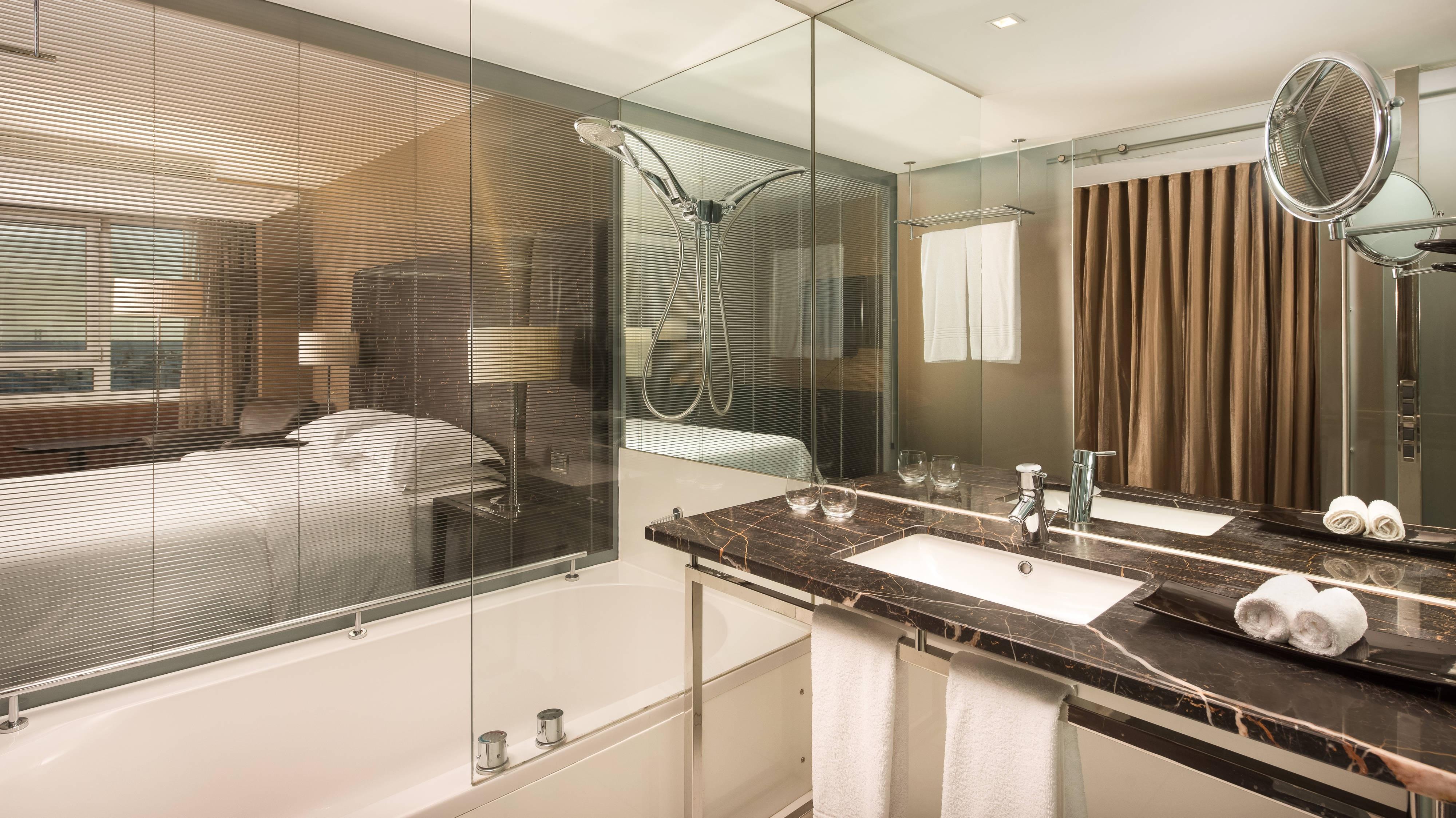 Deluxe and Premium Guest Bathroom