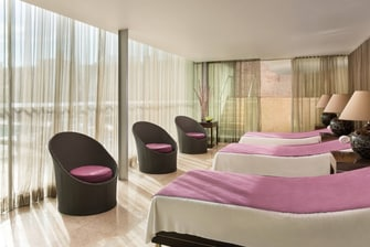 Spirito Spa Relaxation Area