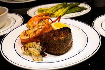 Little Rock Steakhouse Entree