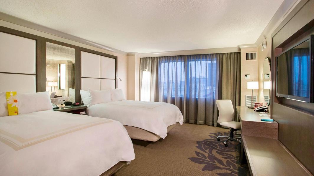 Little Rock Hotel Room