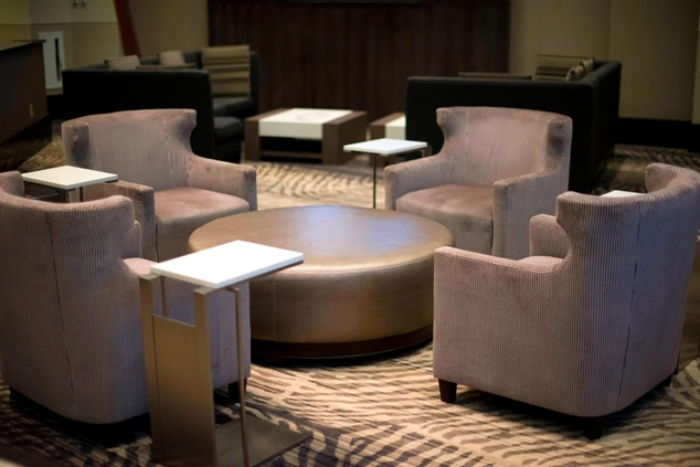 M Club Lounge Seating Area