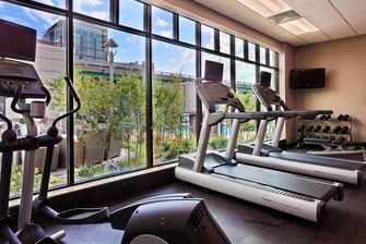 little rock hotel fitness center