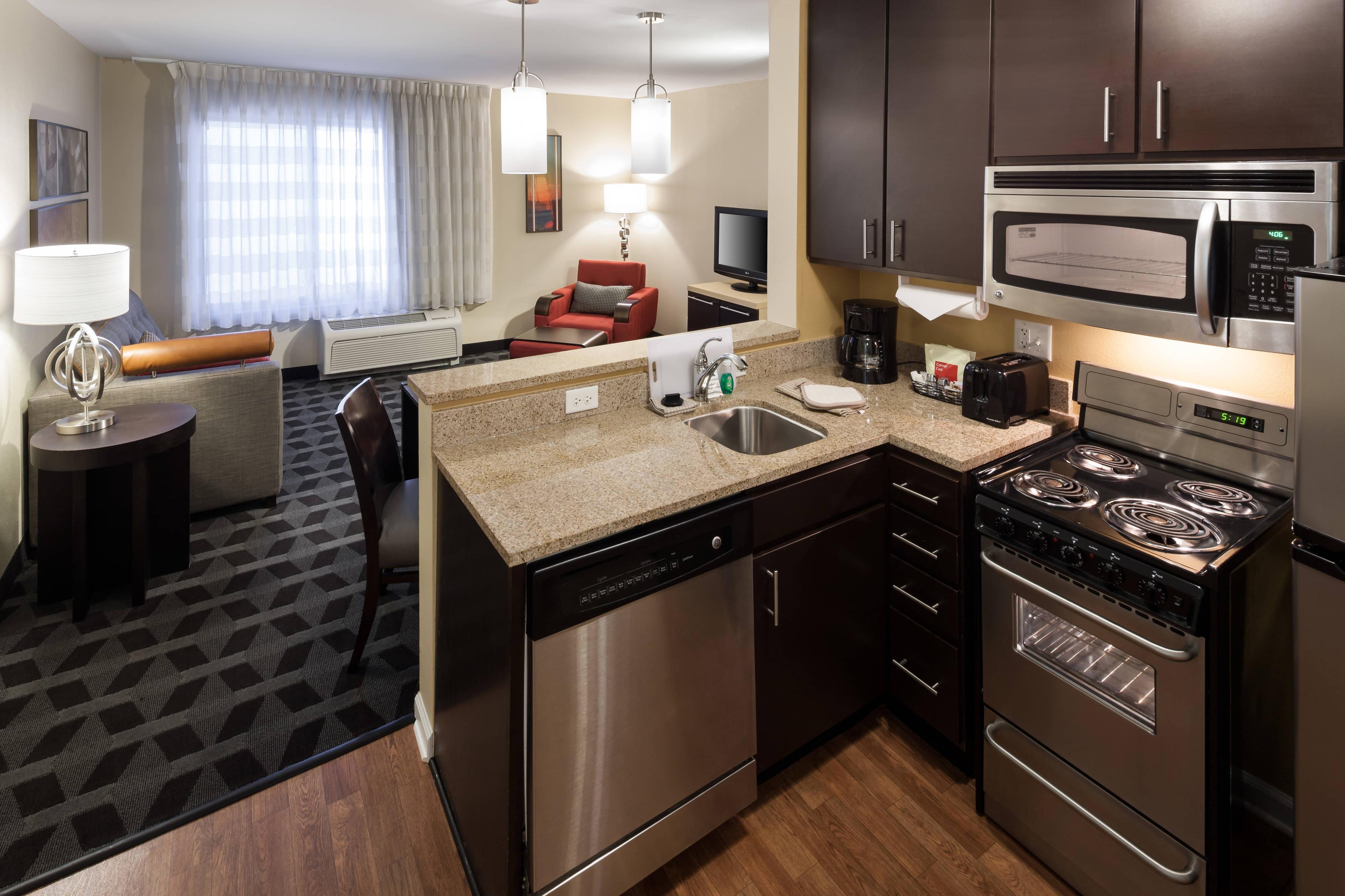 Suite con due camere da letto - cucina