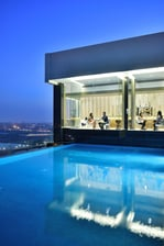Rooftop Lounge in Lucknow