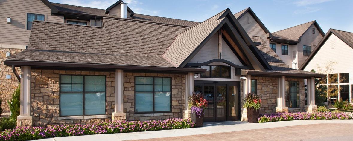 South Lincoln Nebraska hotel entrance