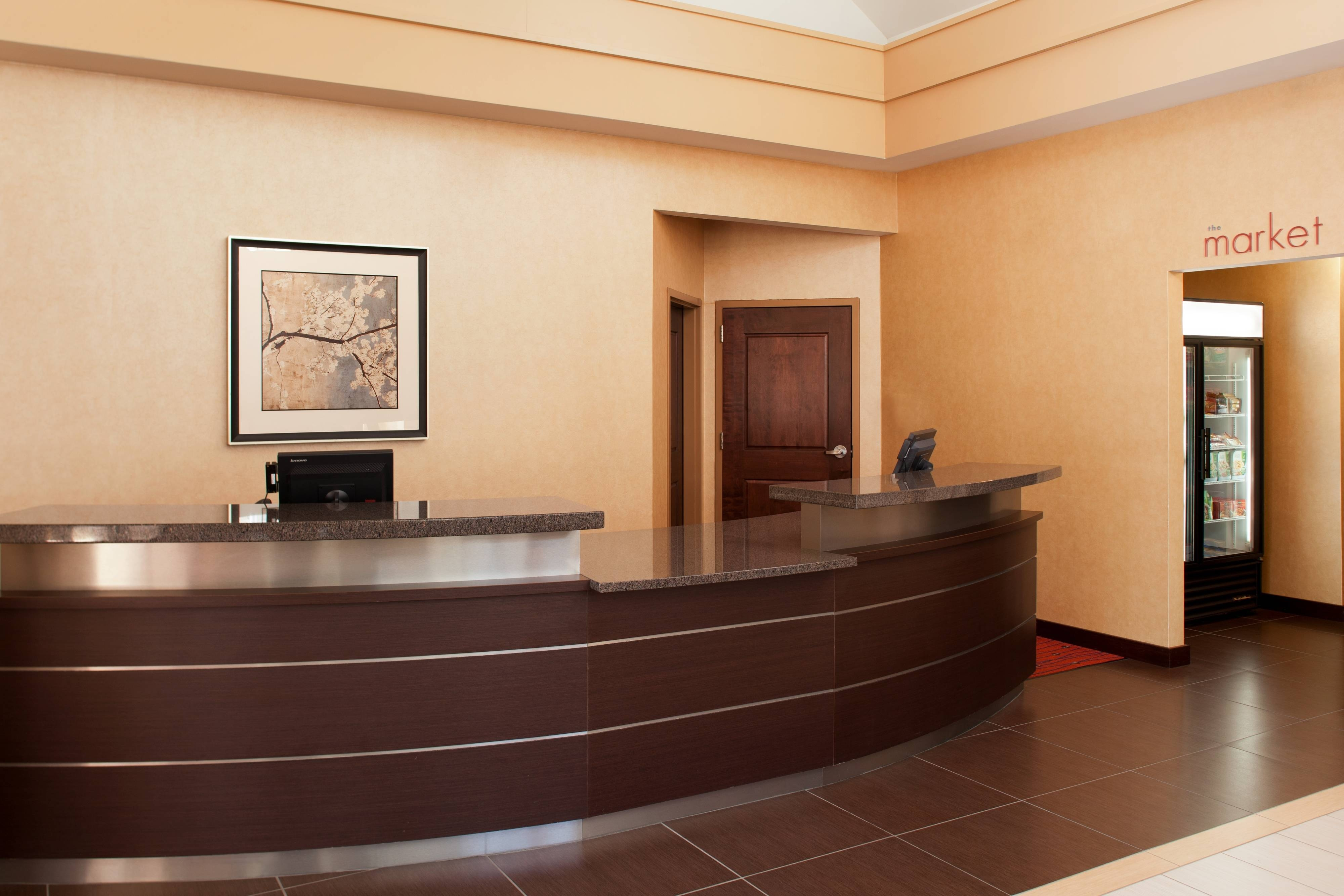South Lincoln hotel front desk