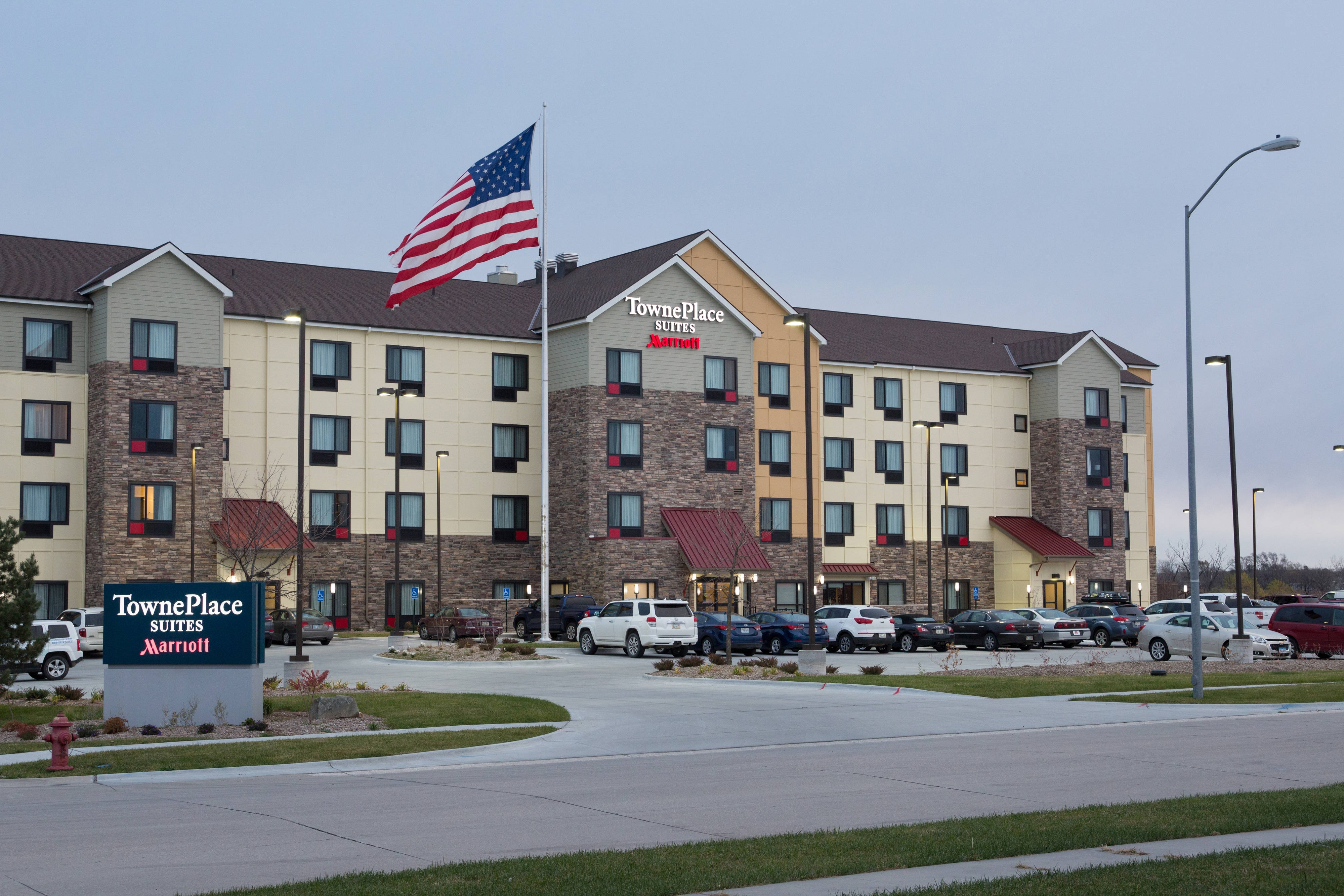 Lincoln Nebraska TownePlace Suites Entrance