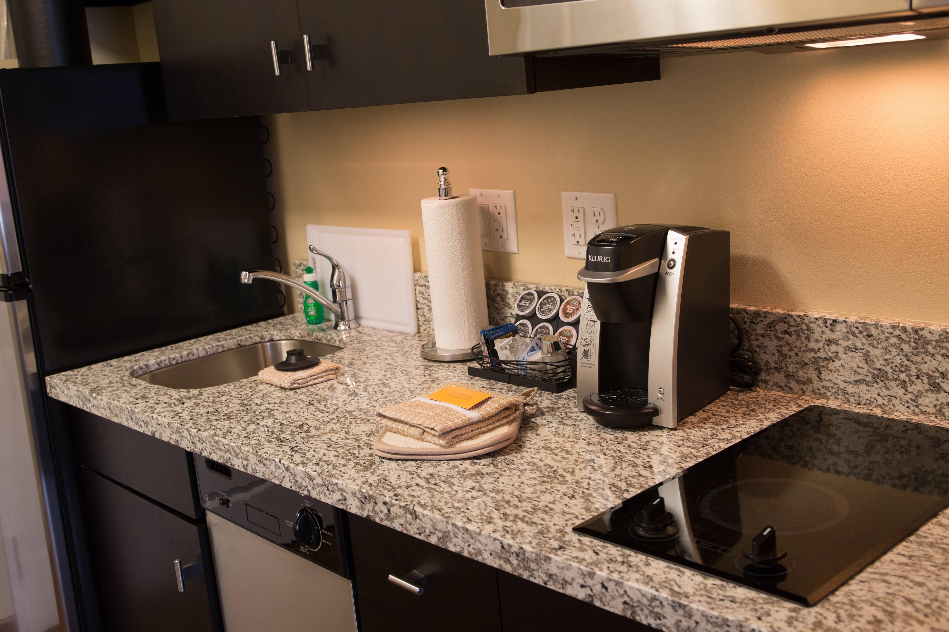 Keurig Coffeemakers in Guest rooms