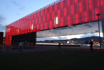 Lentos Art Museum in Linz