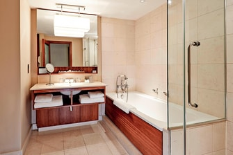 Hotel Suite Badezimmer in London
