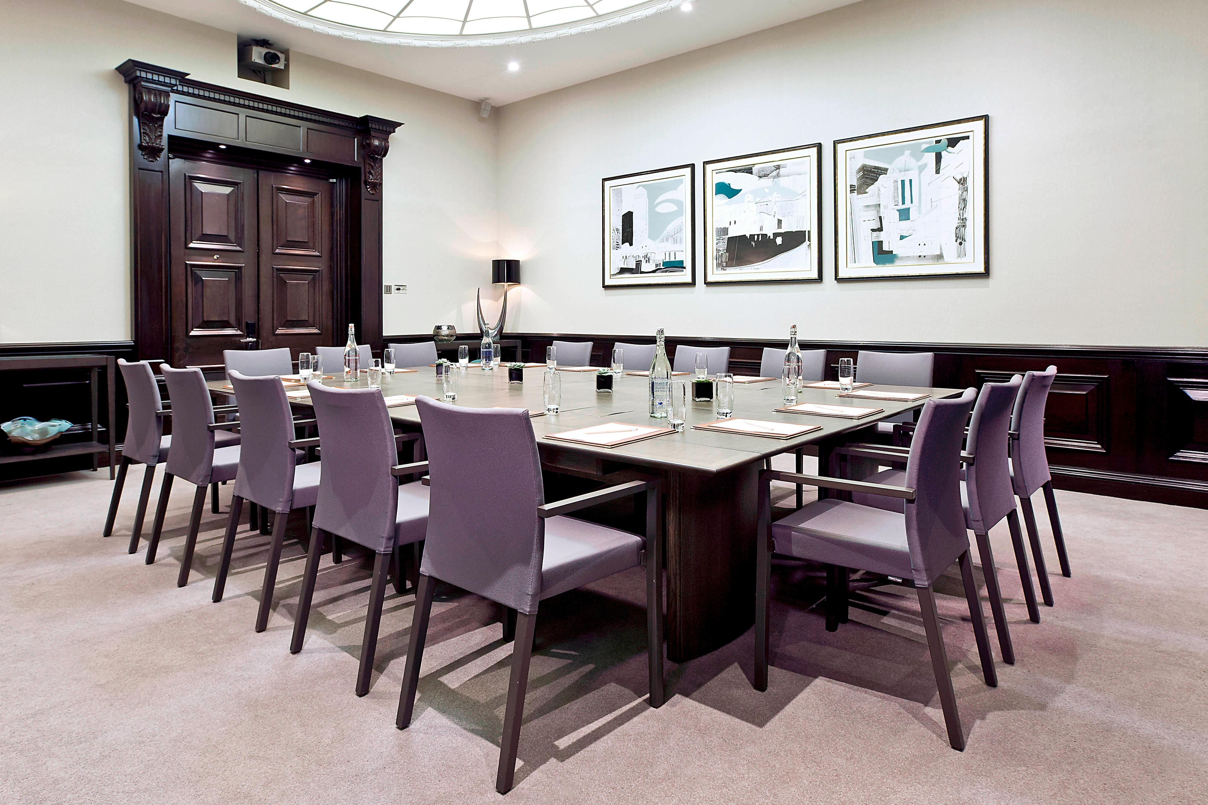 London hotel conference room