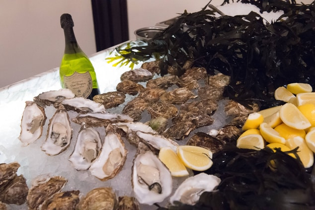 Champagne & Oysters in London