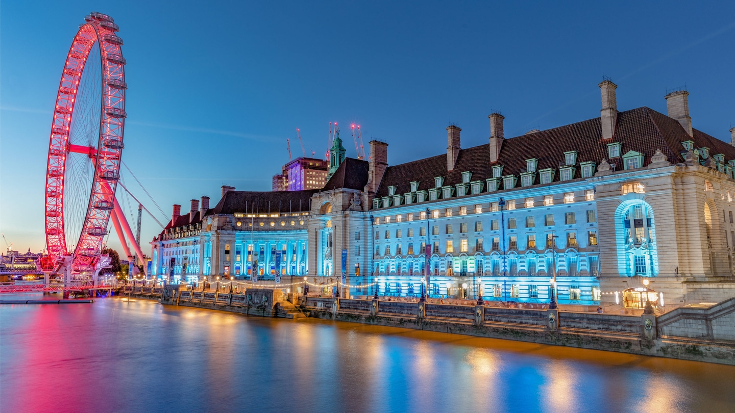 Luxury Hotel London Westminster London Marriott Hotel County Hall Images, Photos, Reviews