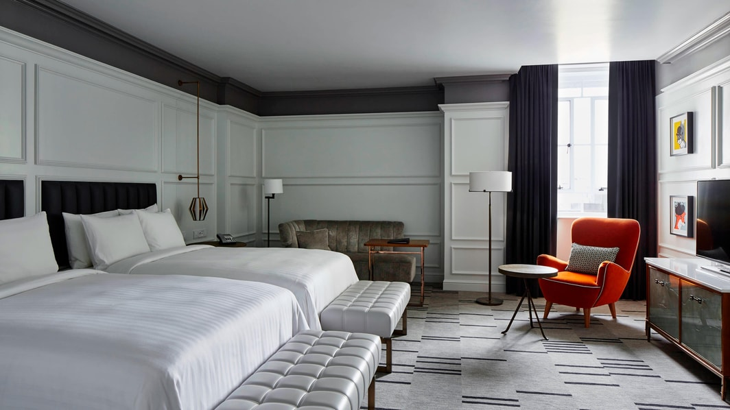London Hotel Family Guest Room