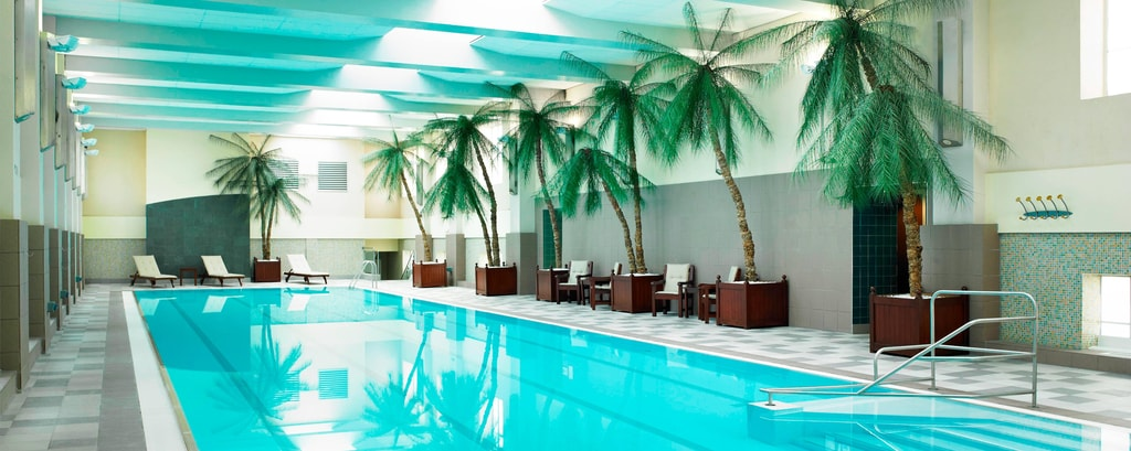 Indoor Pool at London Hotel