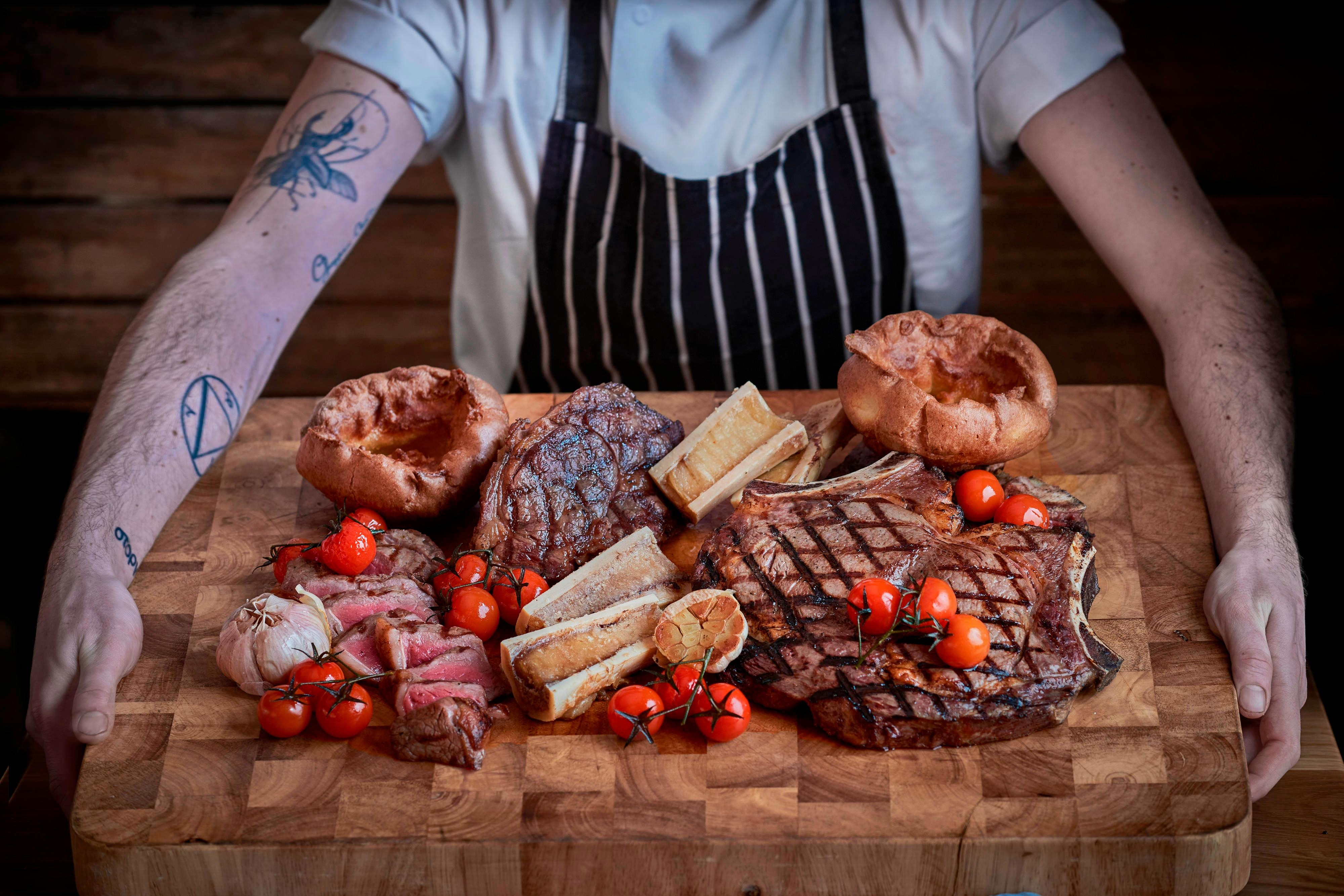 Gillray's Steakhouse & Bar - Meat Board