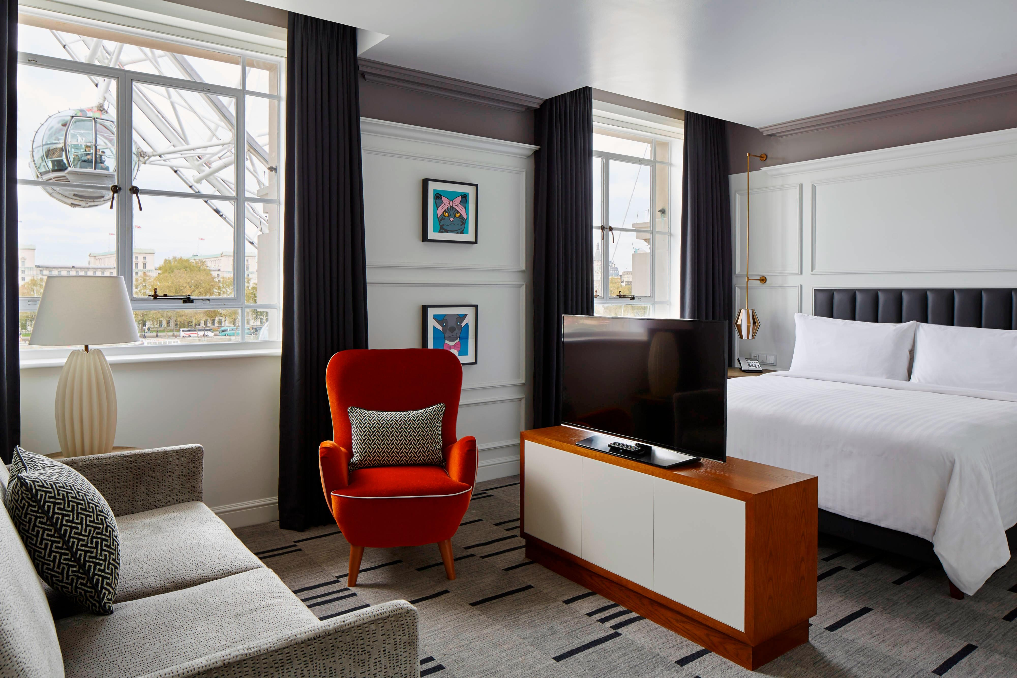 Suite Junior de l'hôtel de Londres