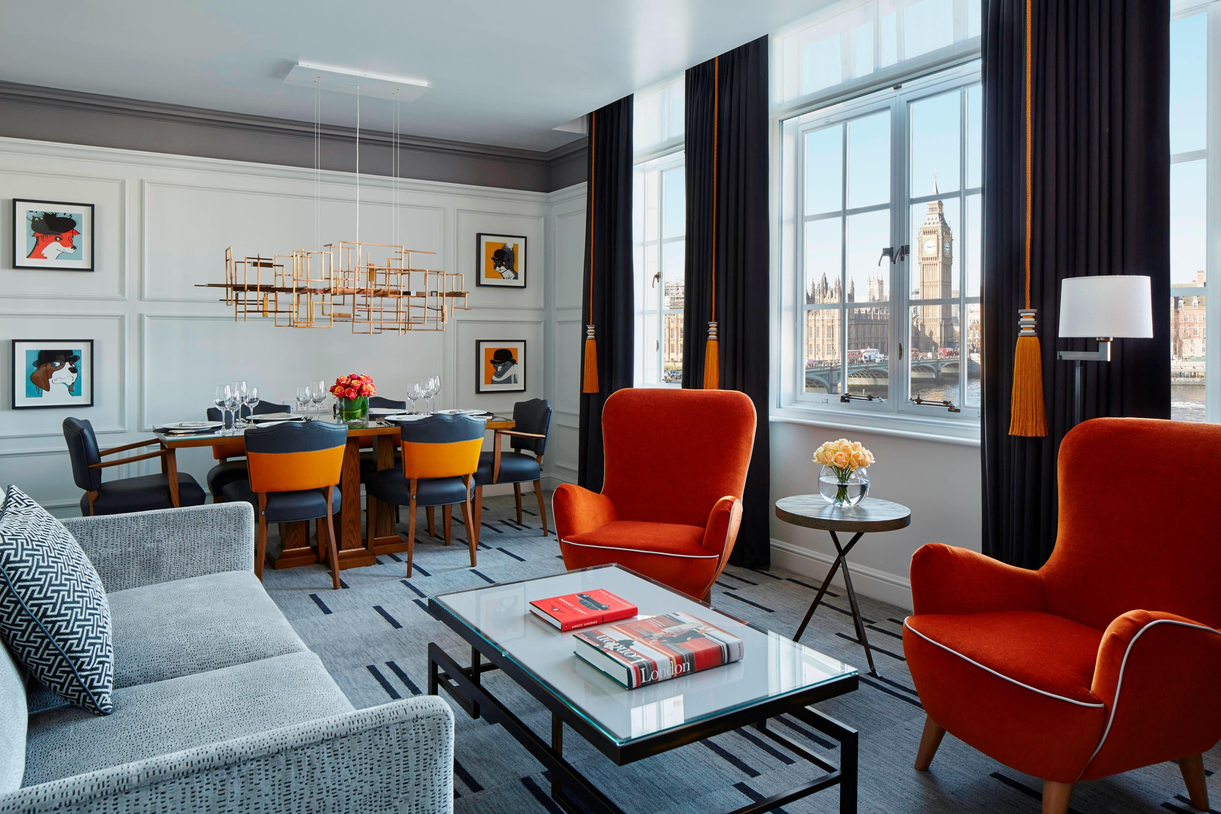 Представительский люкс с 1 спальней– столовая