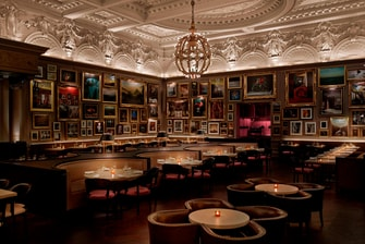 Berners Tavern Sitting Area