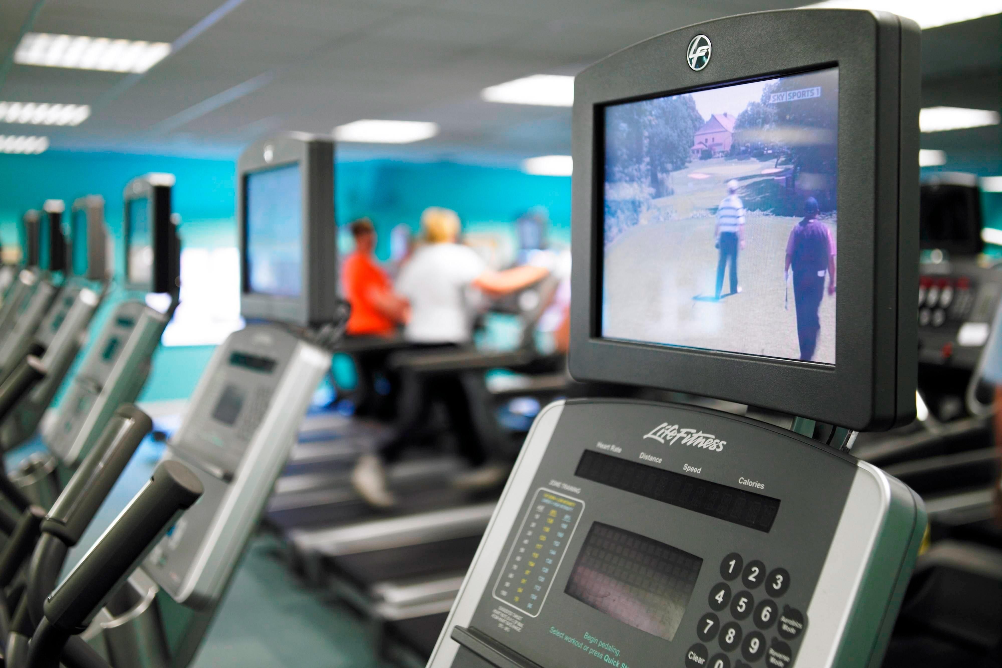 London Hotel with Fitness Equipment