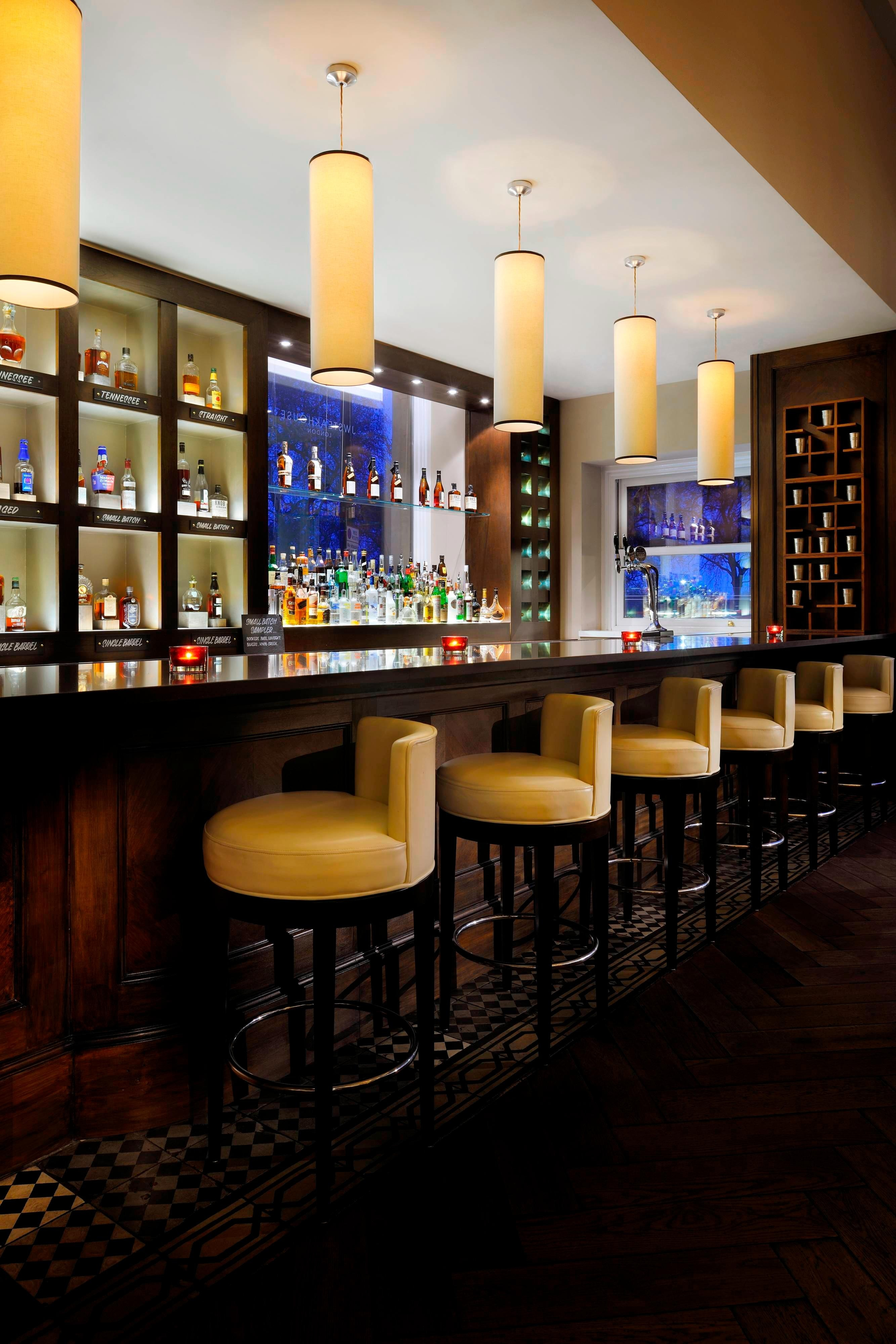The Bourbon Bar in Mayfair