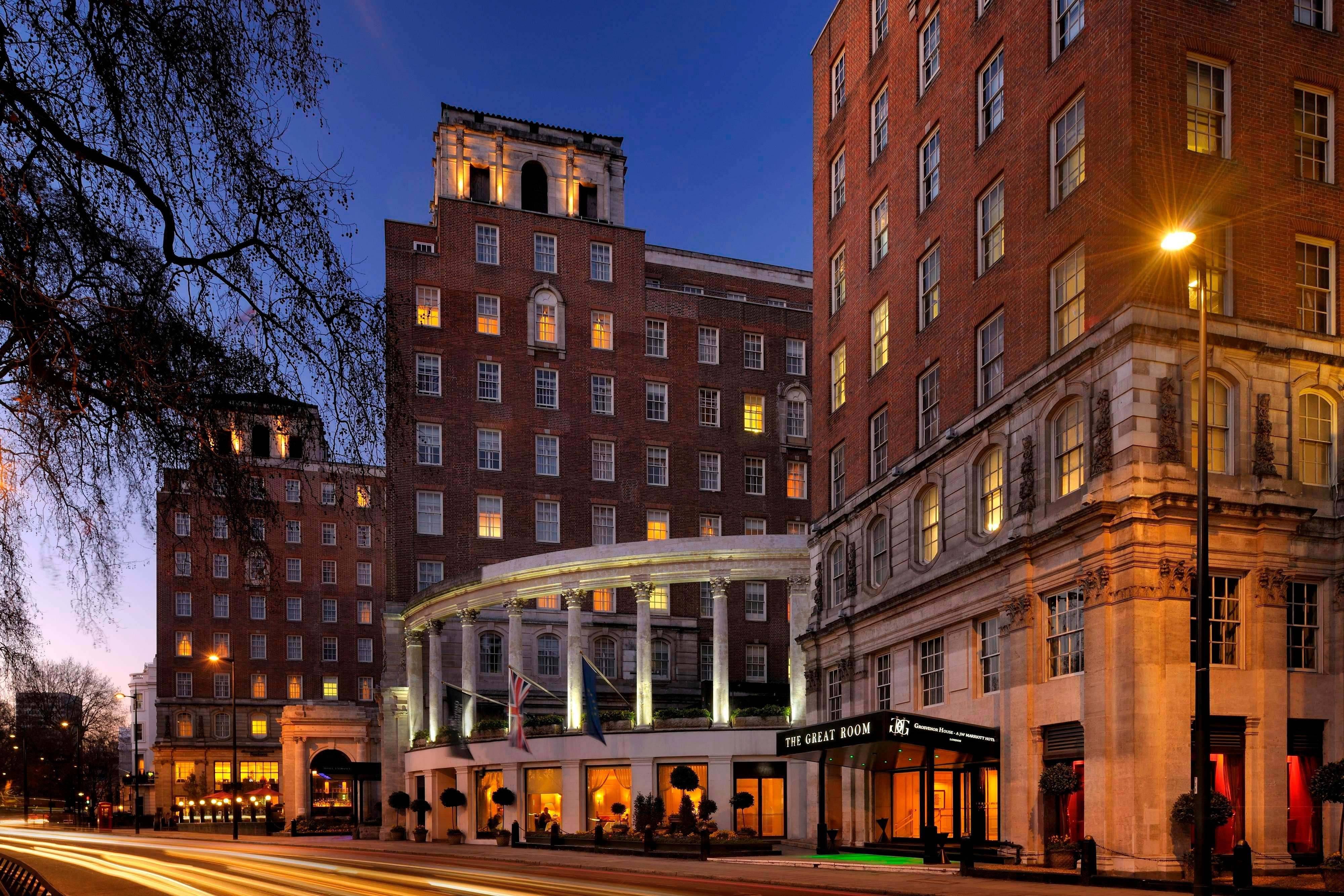 Luxury Park Lane, London hotel