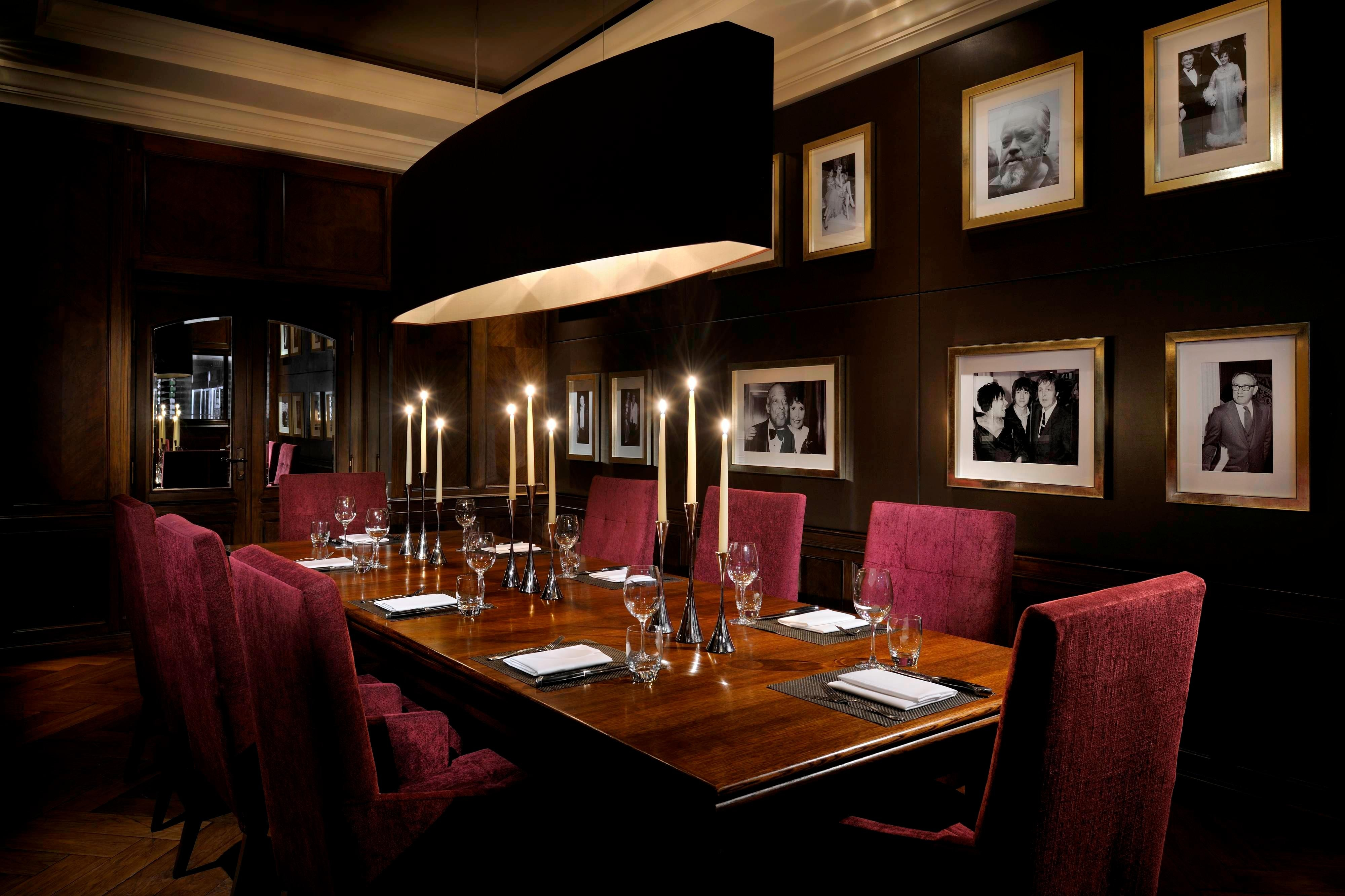 Private dining room, London Steakhouse