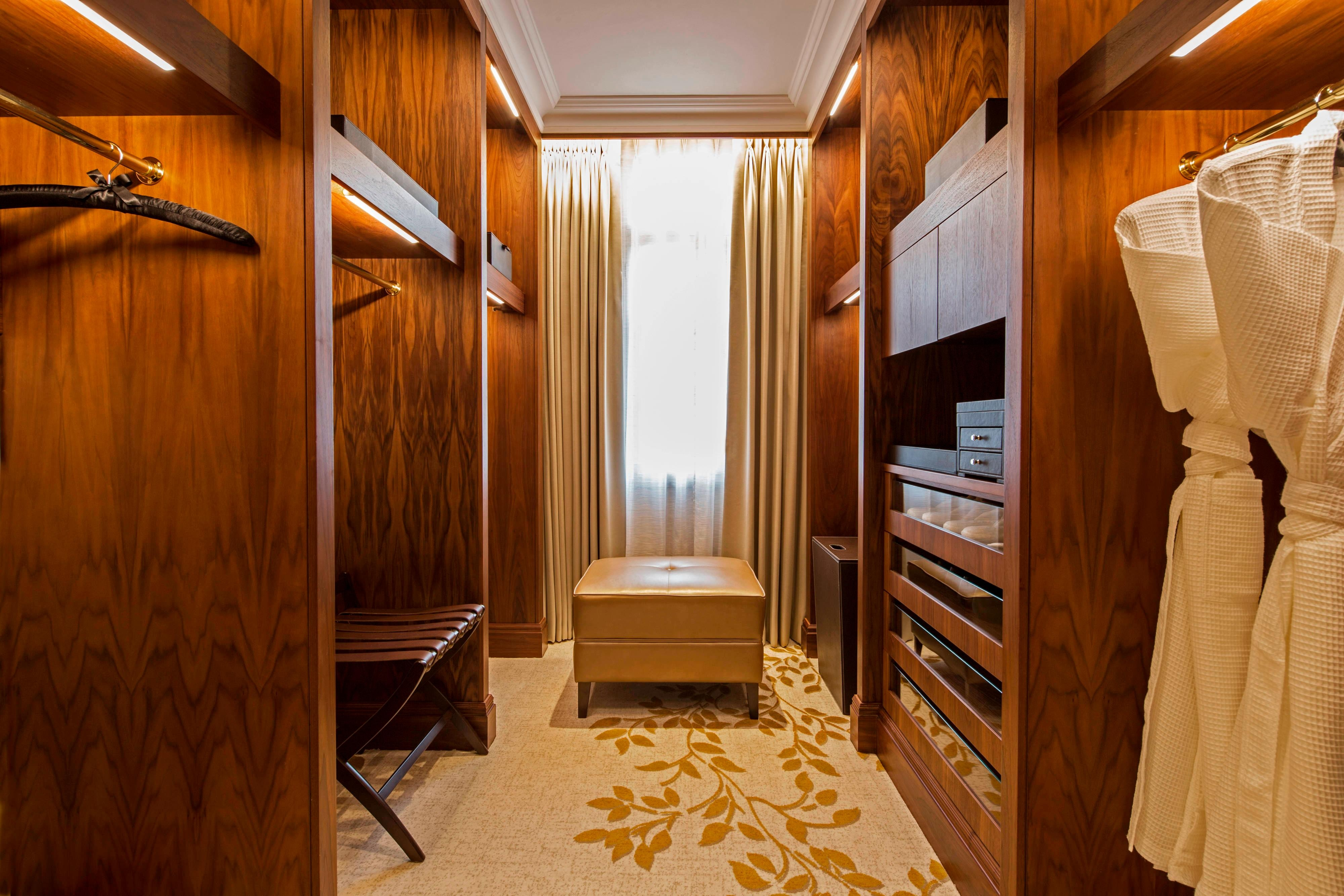 Royal Suite Walk-In Closet