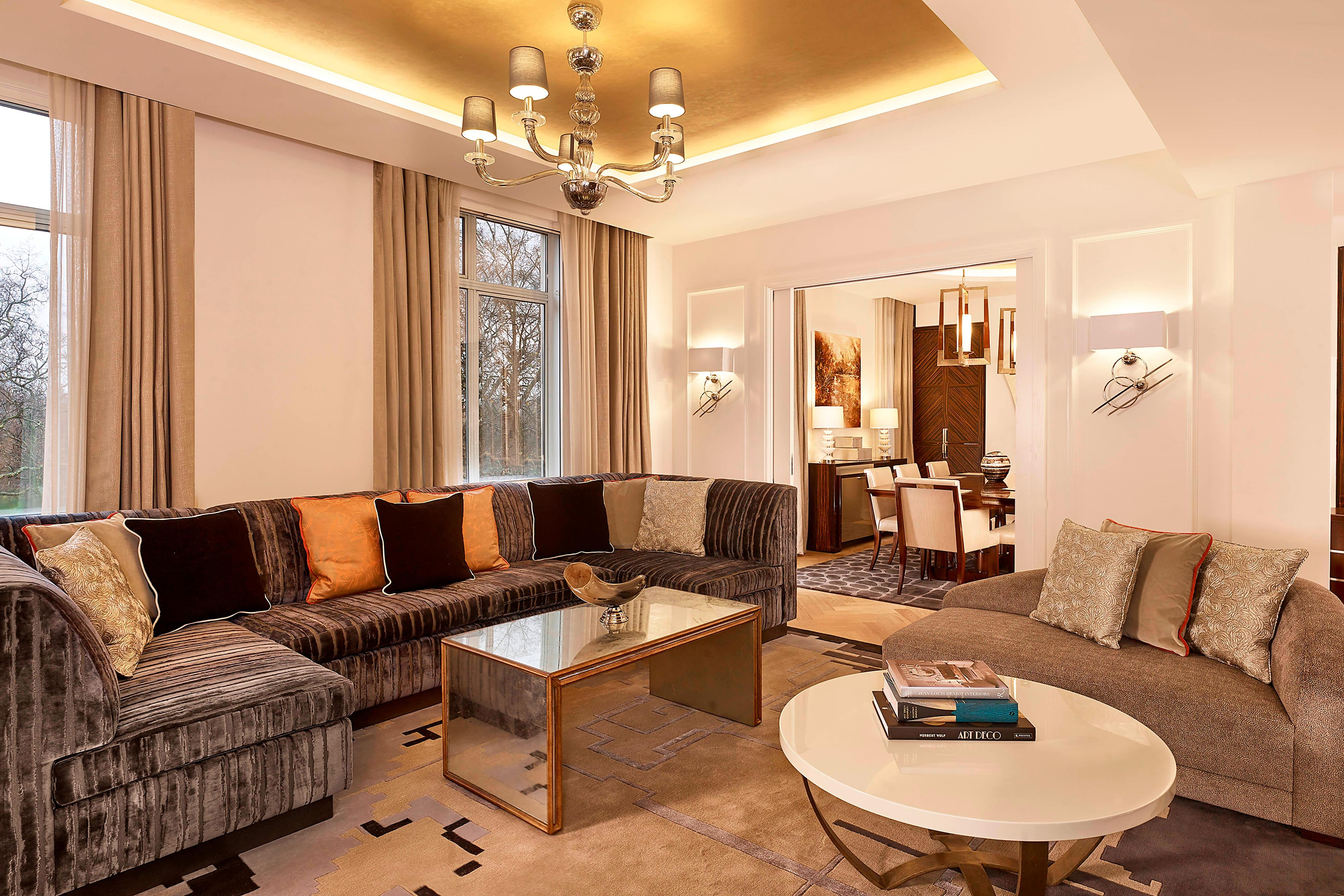 The Grand Suite - Living Room and Dining Room