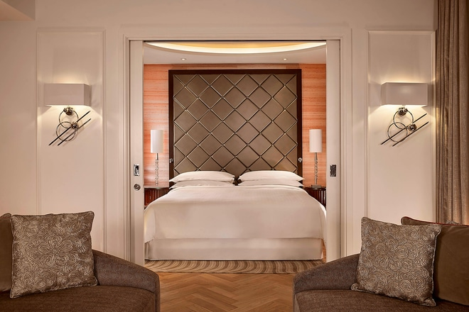 The Grand Suite - King Bedroom