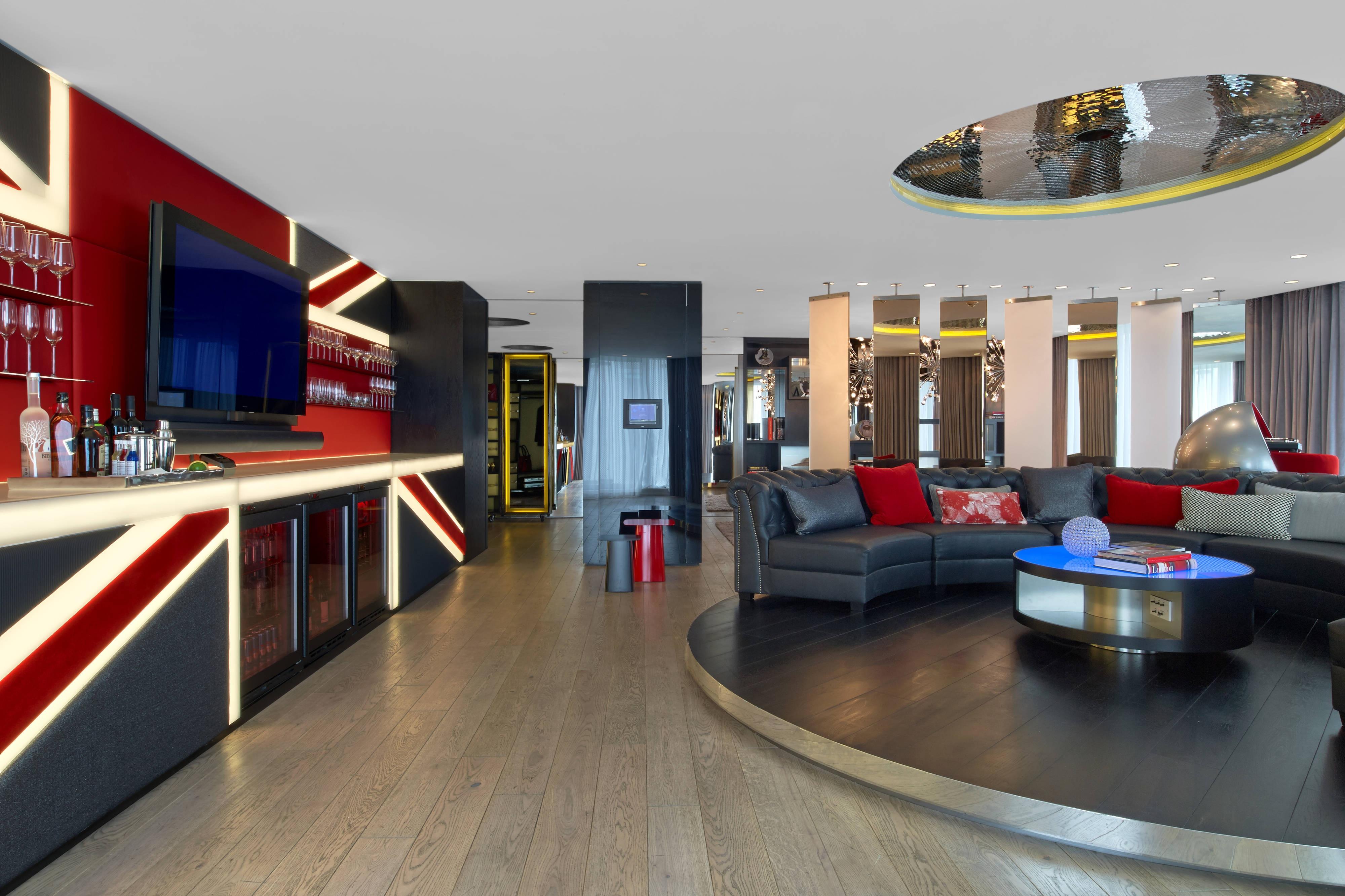 Suite Extreme Wow: salle de séjour