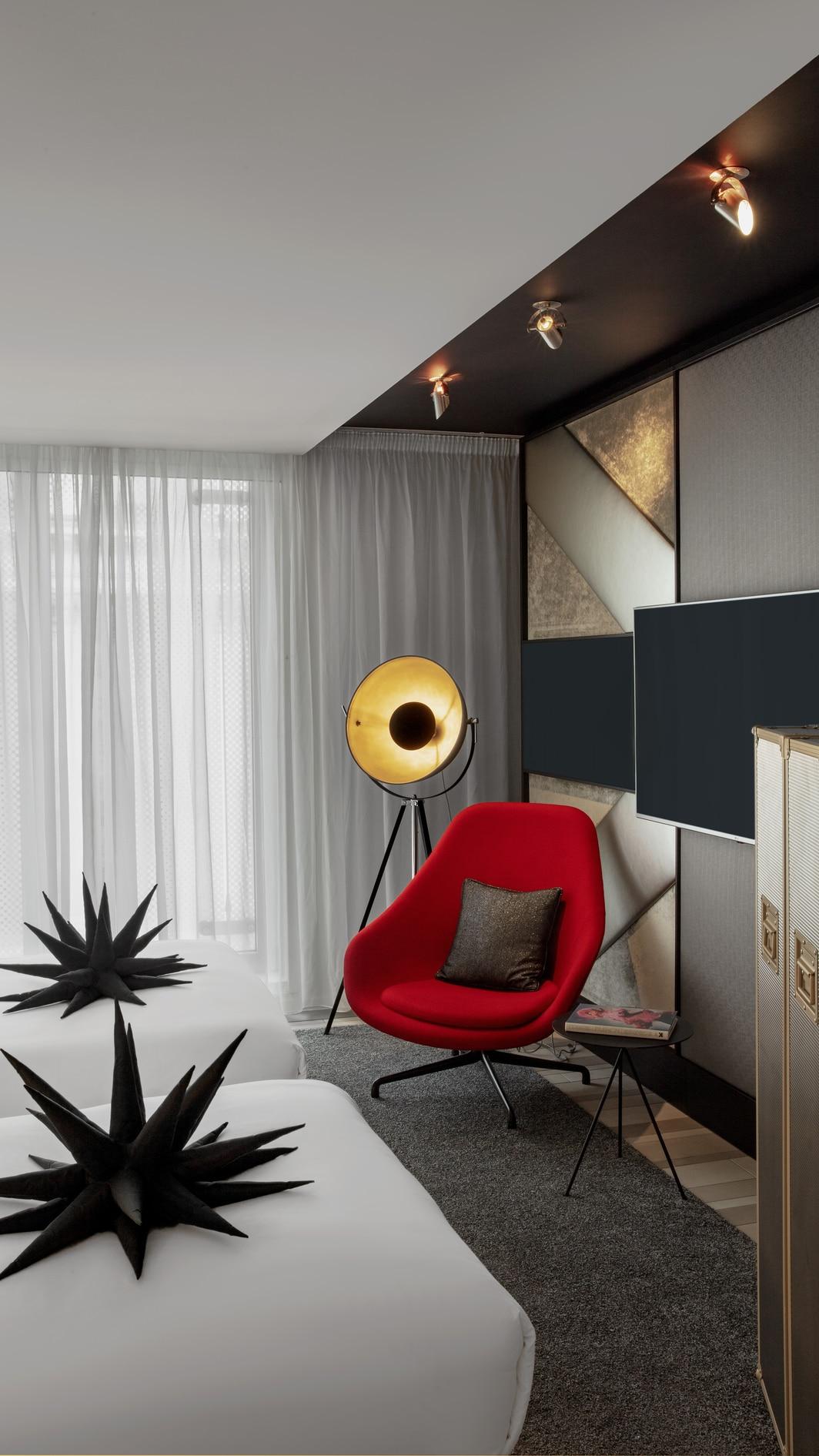 Wonderful Gästezimmer mit zwei Einzelbetten