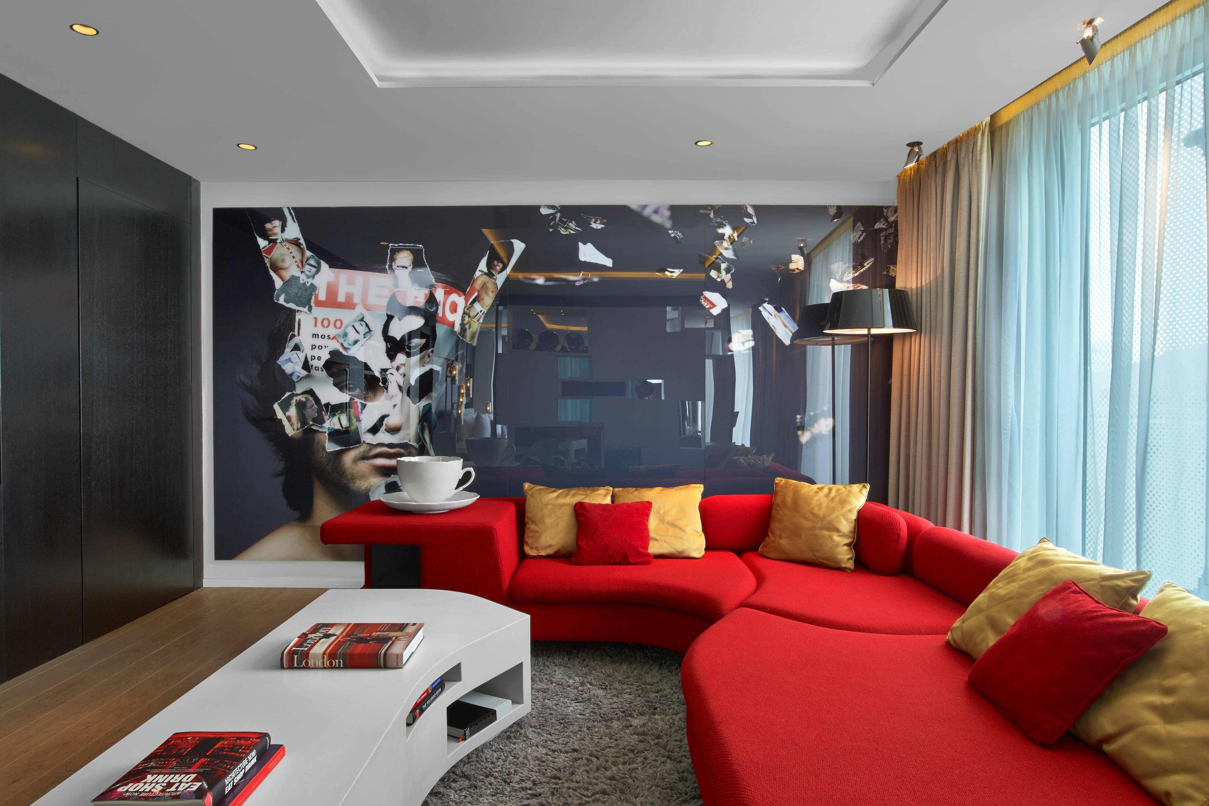 Suite Wow: salle de séjour