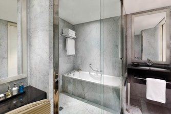 The Lowndes Penthouse Suite - Guest Bathroom