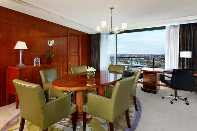The Lowndes Penthouse Suite - Dining Room