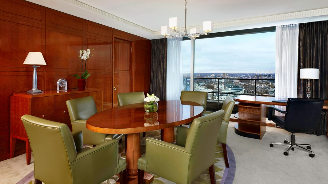 Suite Penthouse Lowndes, comedor
