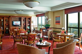 Lounge ejecutivo London Marriott Marble Arch