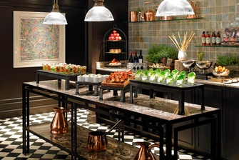 Executive Lounge – Snack Bar
