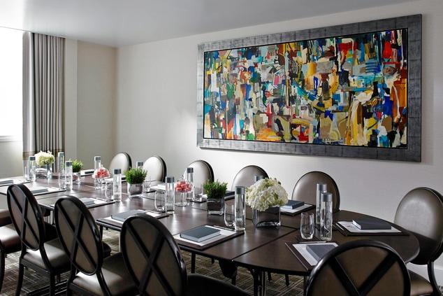 Mayfair London Boardroom