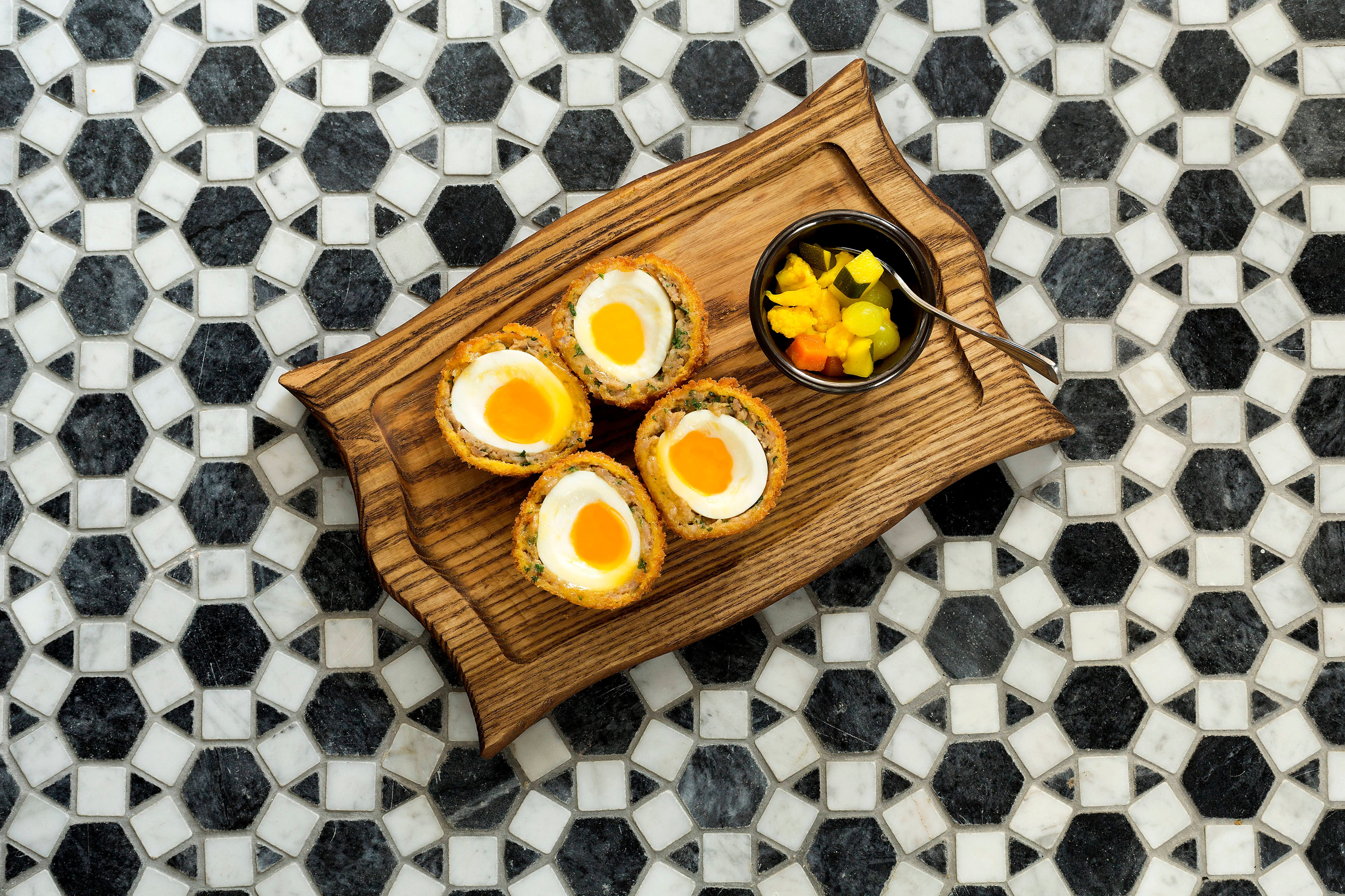 Lanes of London – œufs Scotch Eggs