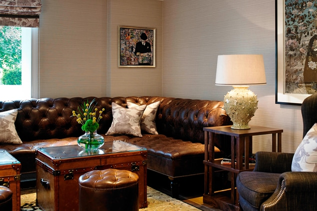 London Hotel's Executive Lounge