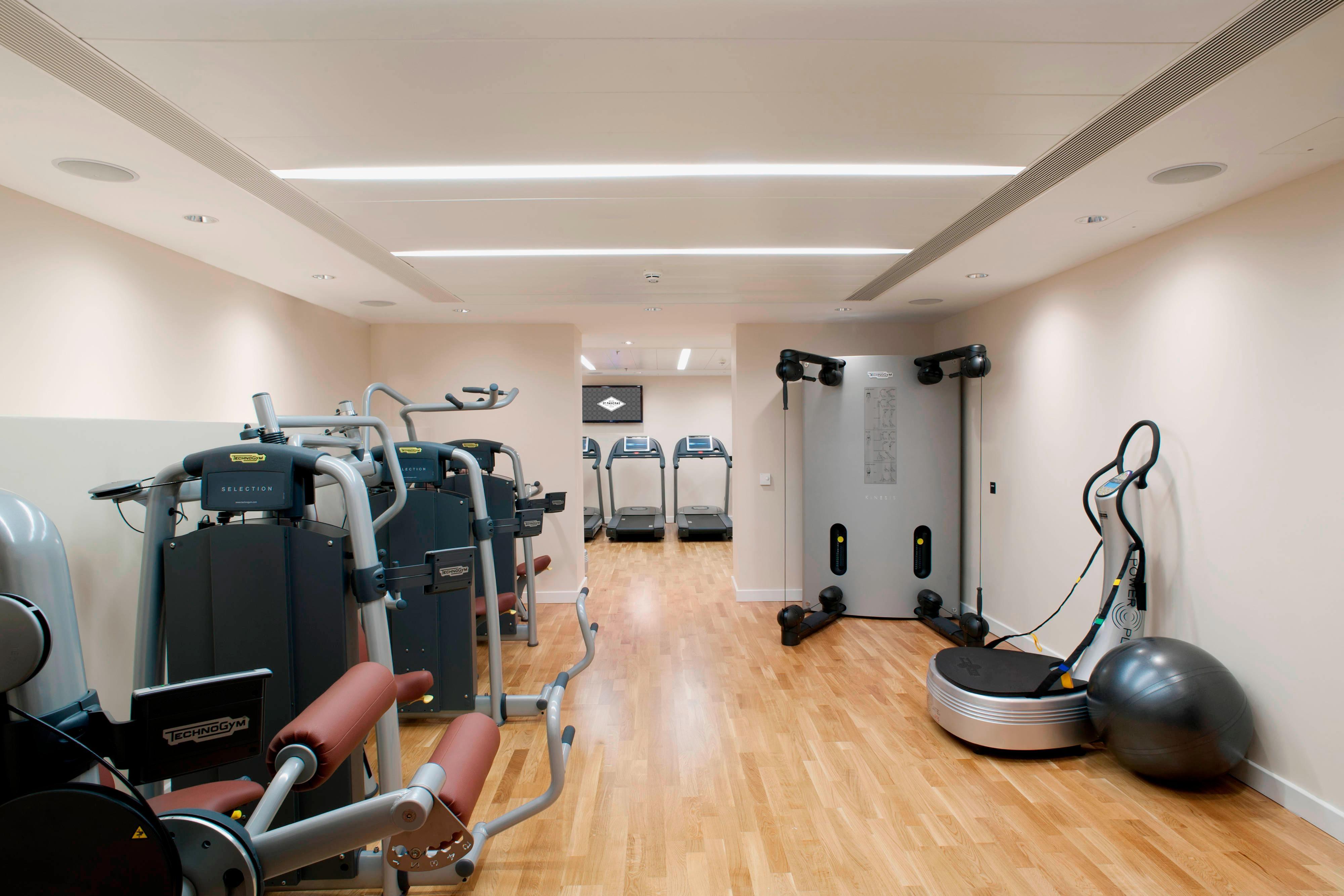 Gym, St Pancras Renaissance