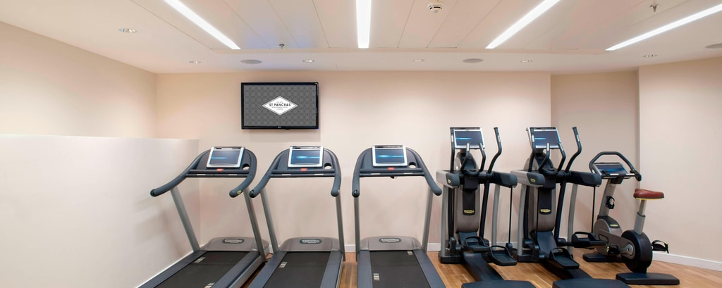 Palestra dell'hotel a St. Pancras