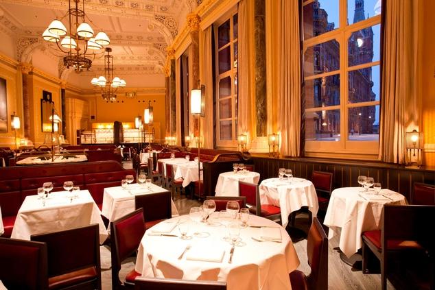 London's  Gilbert Scott Restaurant